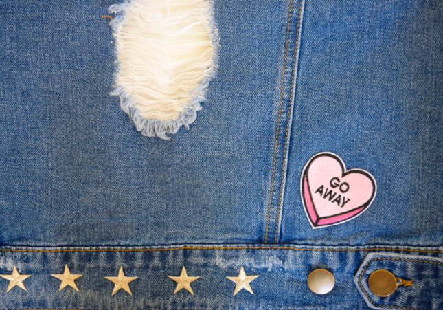 DIY Embroidered Denim Jacket Tutorial