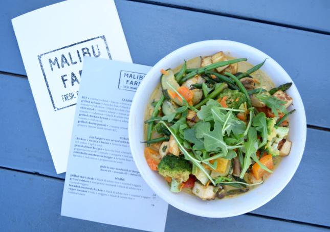Healthy Food In Malibu