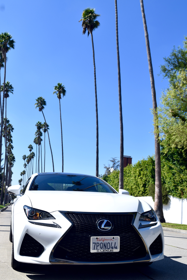 How to get around Los Angeles easiest Lexus RC F city guide