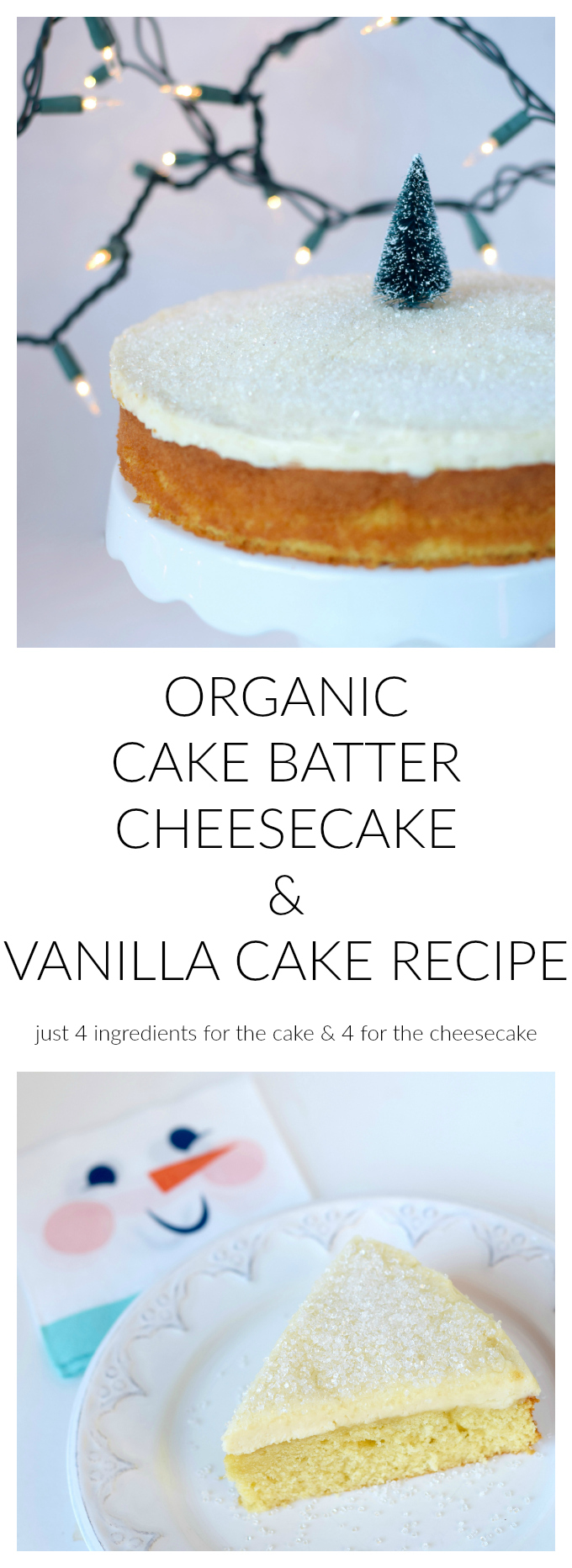 Cake Batter Cheesecake Recipe