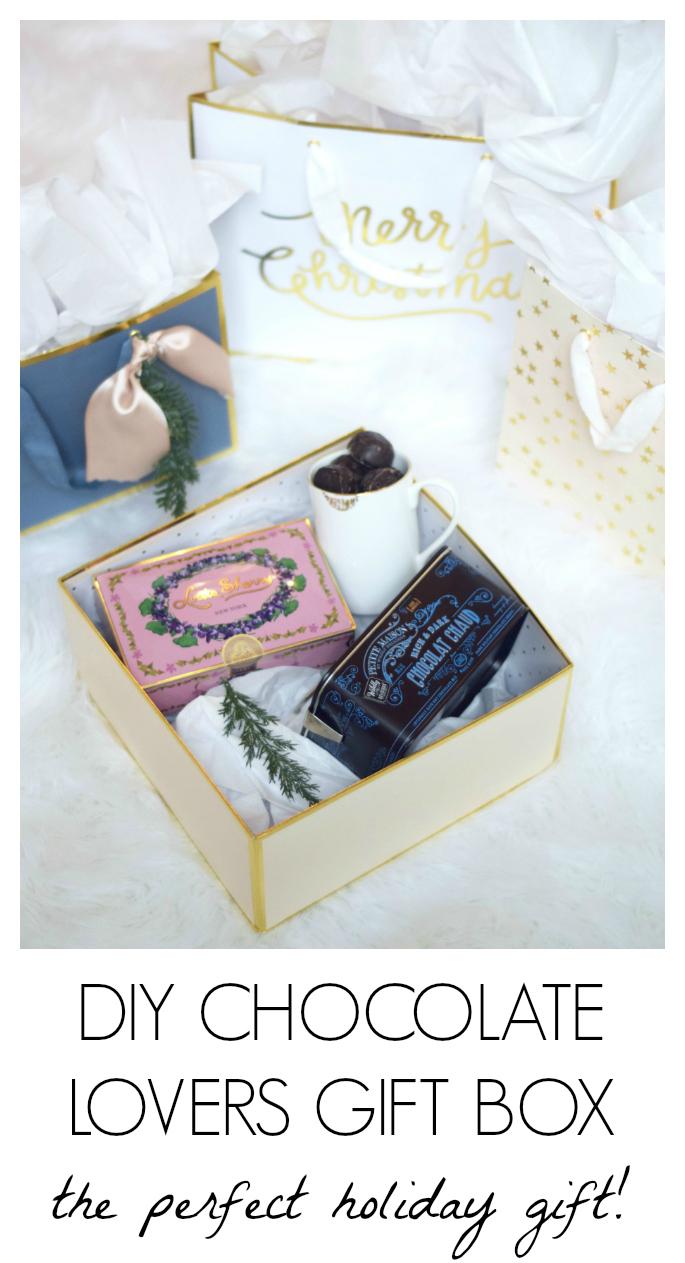 DIY Chocolate Lovers Gift Box