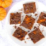 Easy Six Ingredient Pumpkin Brownies Recipe