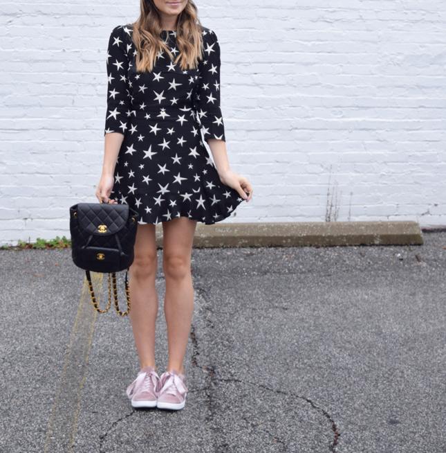 Realisation Par Star Print Dress