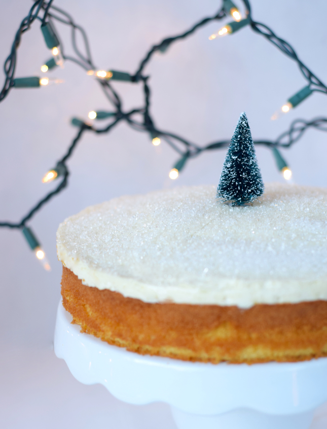 The Best Winter Cheesecake Cake Recipe