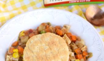 Veggie Options For Meatless Monday MorningStar Chik'n Pot Pie