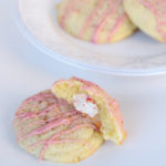 Candy Cane Kiss Stuffed Sugar Cookies Recipe