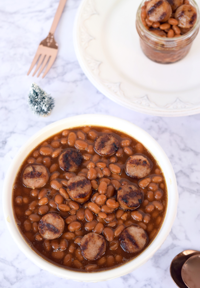 Grilled Brats And Beans Recipe