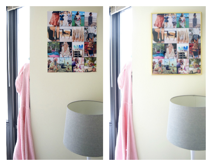 wayfair framed collage