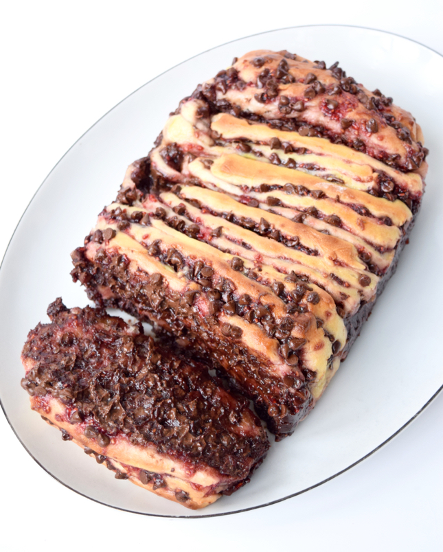 chocolate raspberry bread