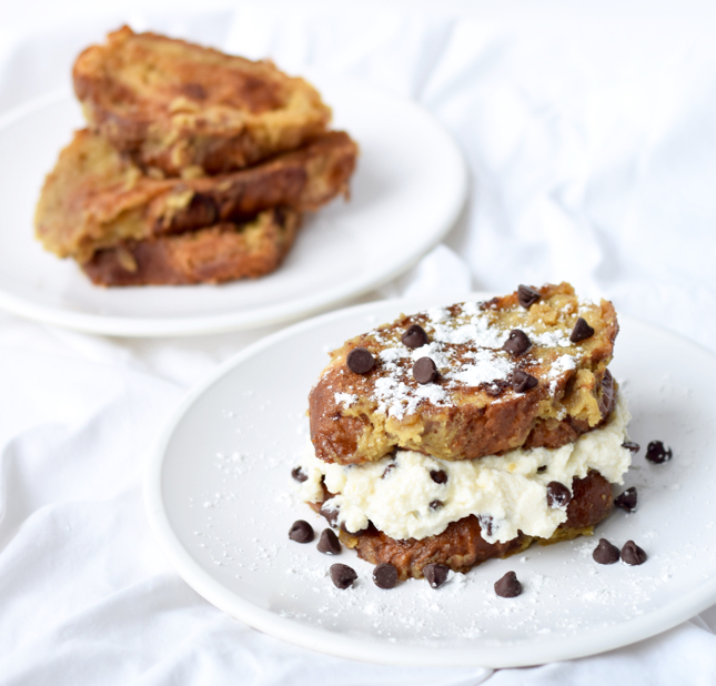 how to make cannoli stuffed french toast