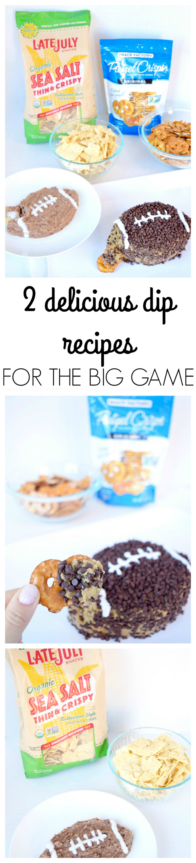 2 DELICIOUS DIP RECIPES FOR THE BIG GAME
