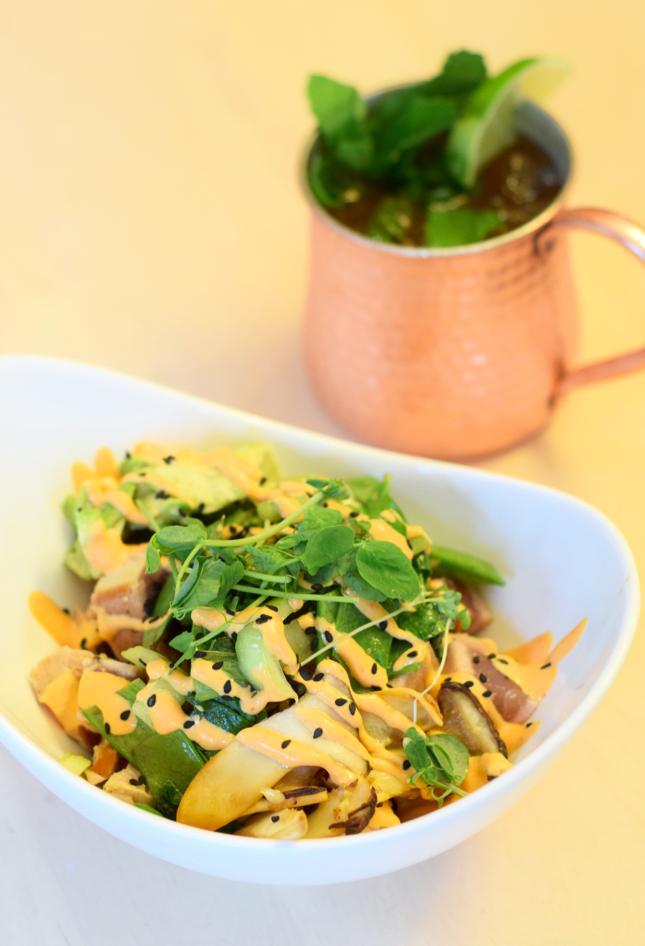 Ahi Tuna Soba Bowl Recipe