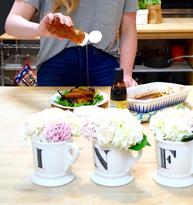 Flowers In Coffee Mug