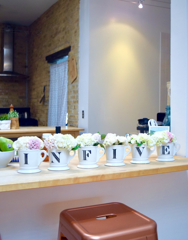 Flowers In Mug Decoration