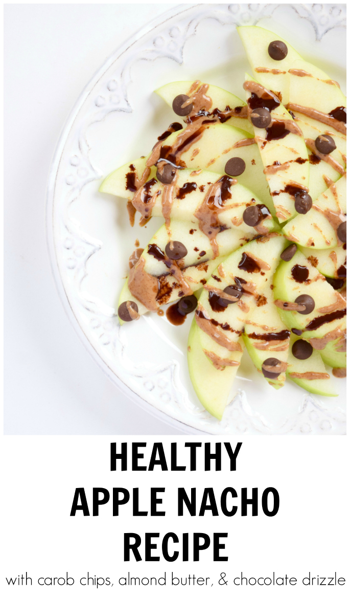HEALTHY APPLE NACHO RECIPE