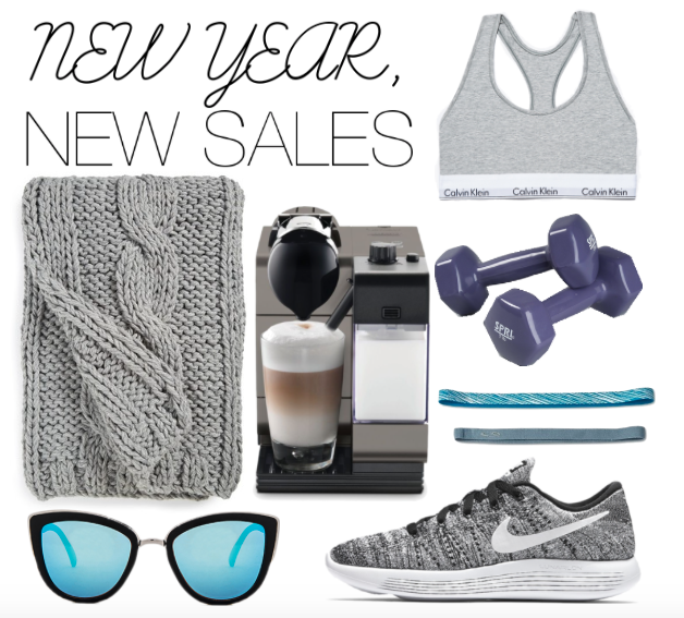 NEW YEAR'S DAY SALES 2017