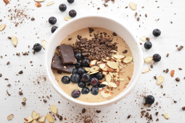 Peanut Butter Chocolate Smoothie Bowl Recipe