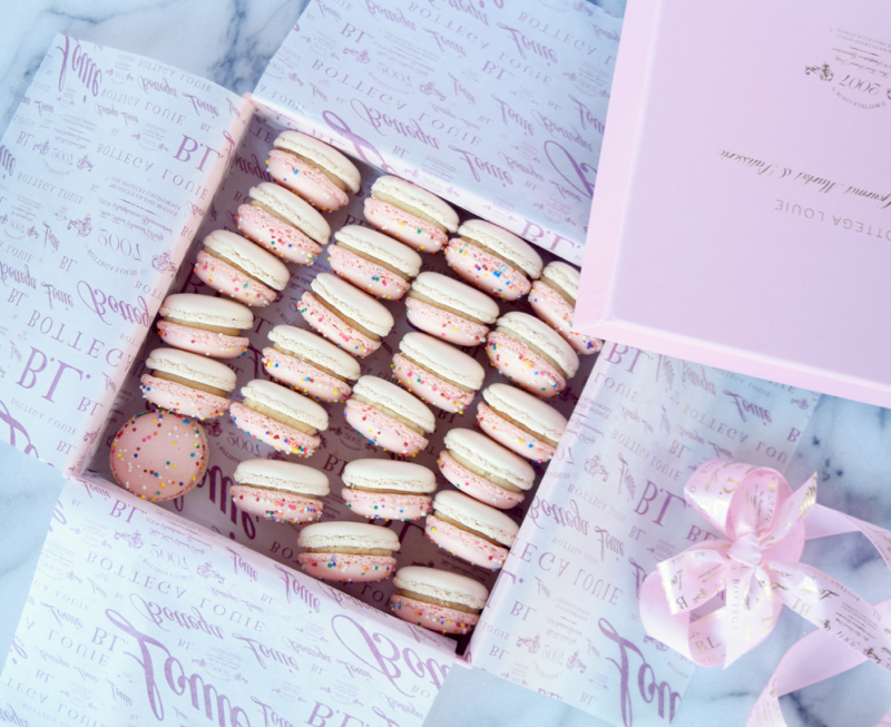 Bottega Louie Cake Batter Macarons