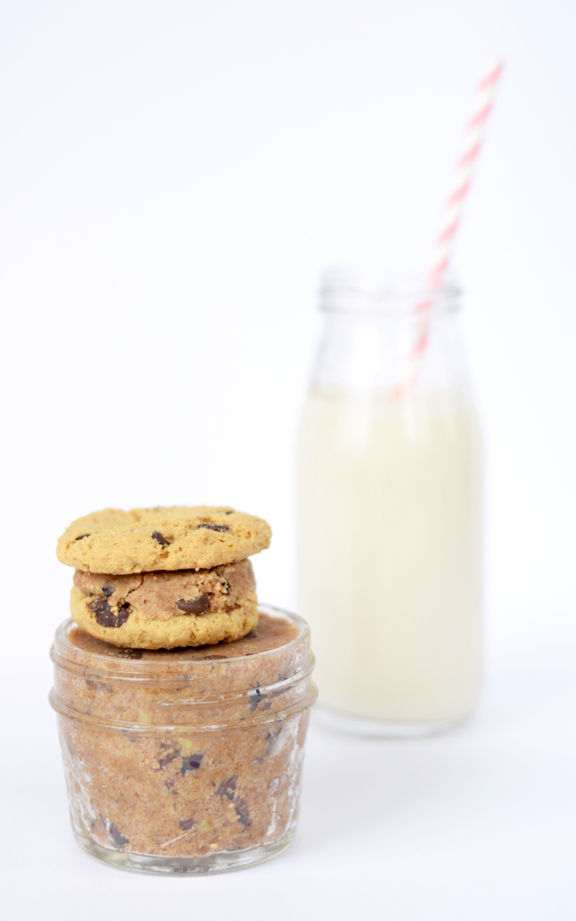 Homemade Chocolate Chip Cookie Almond Butter Recipe