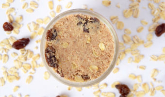 Homemade Oatmeal Raisin Cookie Almond Butter Recipe