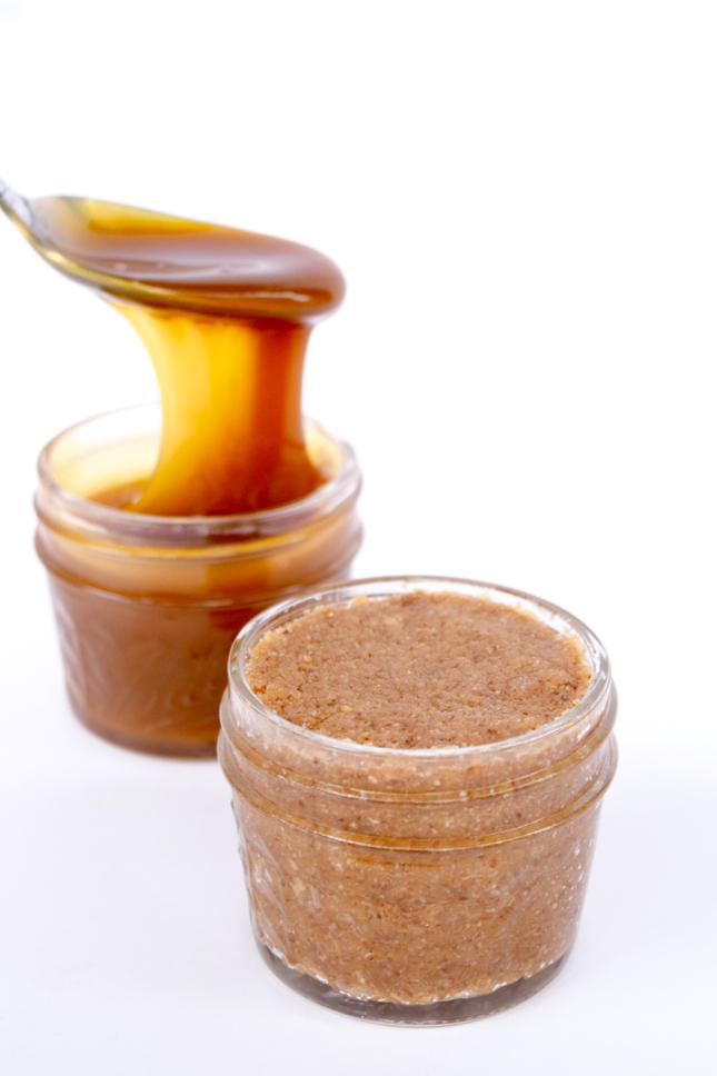 Homemade Salted Caramel Almond Butter Recipe