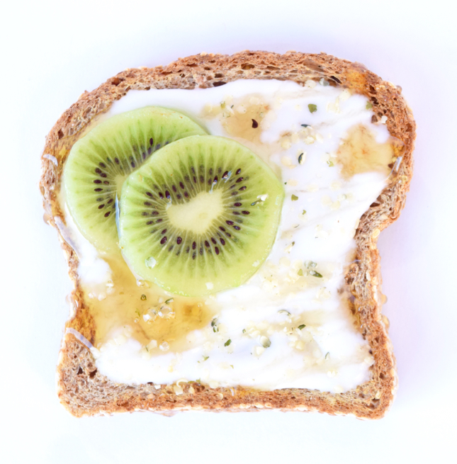 Kiwi Coconut Toast Recipe