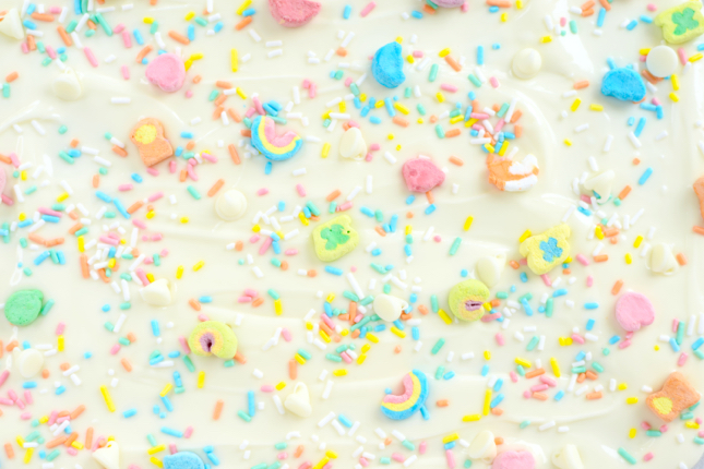 Lucky Charms Chocolate Bark Recipe