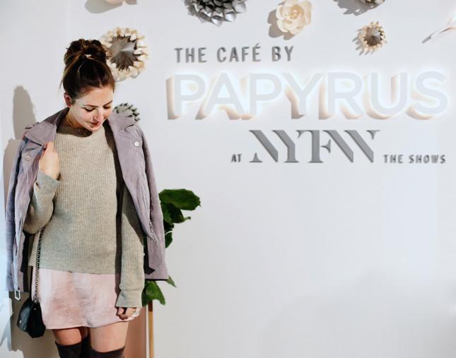 Papyrus Cafe NYFW