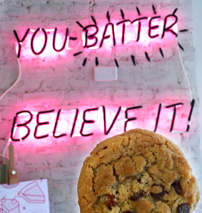 sweets bychloe chocolate chip cookie