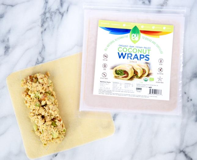 Chickpea Coconut Wrap Recipe