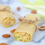 Vegan & Gluten-Free Healthy Coconut Chickpea Wraps