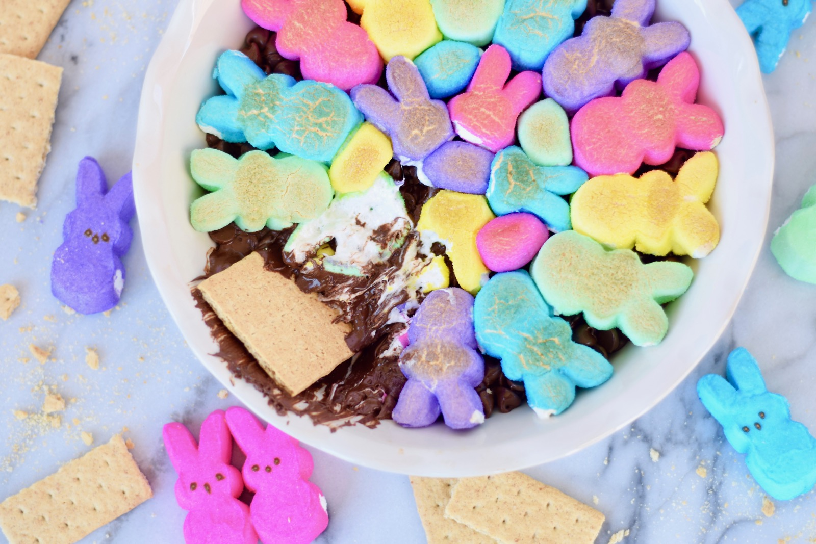 Colorful Easter S'mores Skillet Recipe