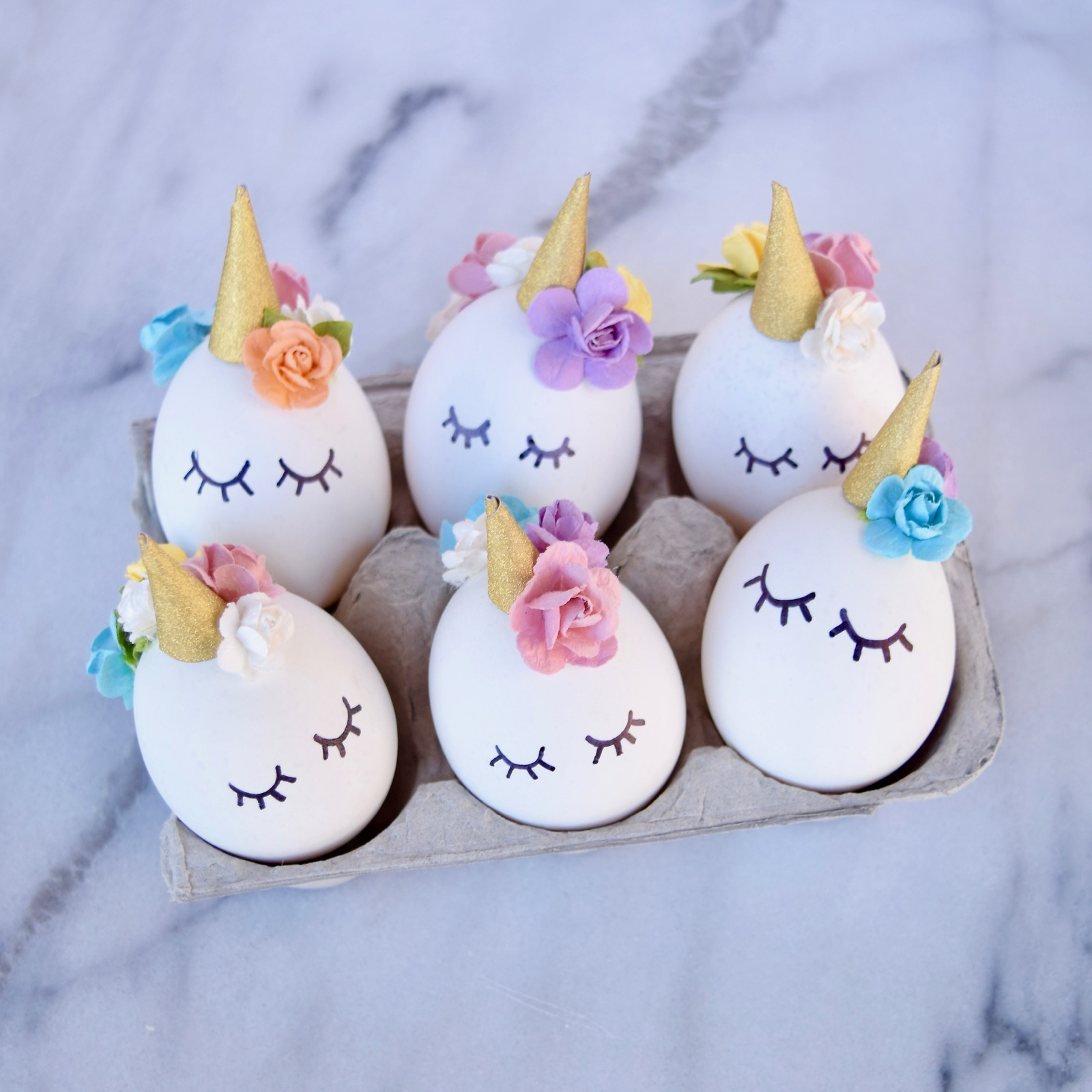 Diy unicorn easter eggs tutorial for Easter egg ideas