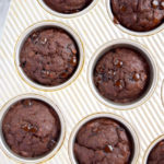 1 Step Healthy Double Chocolate Banana Muffins Recipe