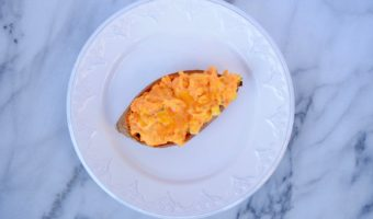Easy Twice Baked Stuffed Sweet Potatoes Recipe