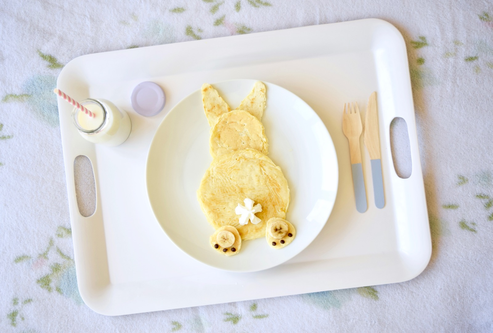 How To Make Bunny Pancakes