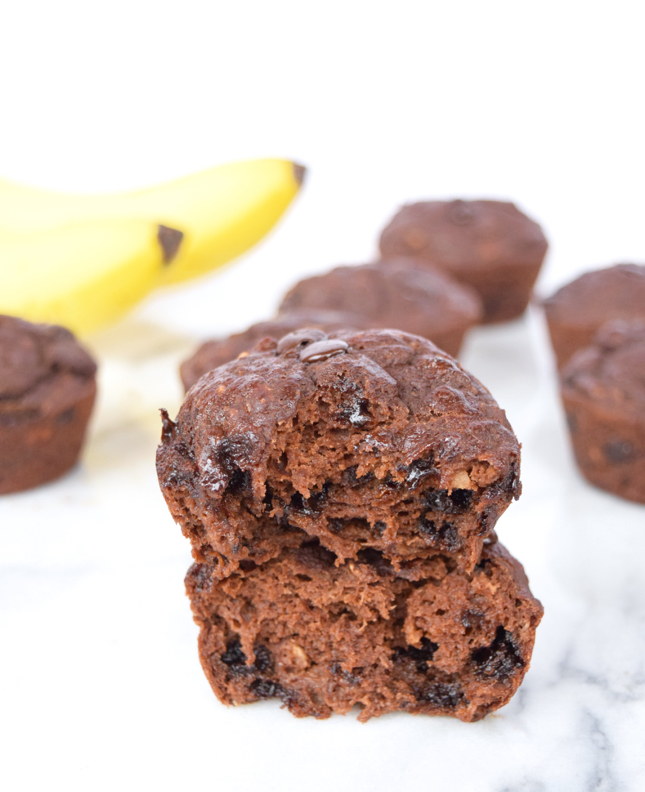 The Best Dairy Free Chocolate Muffin Recipe