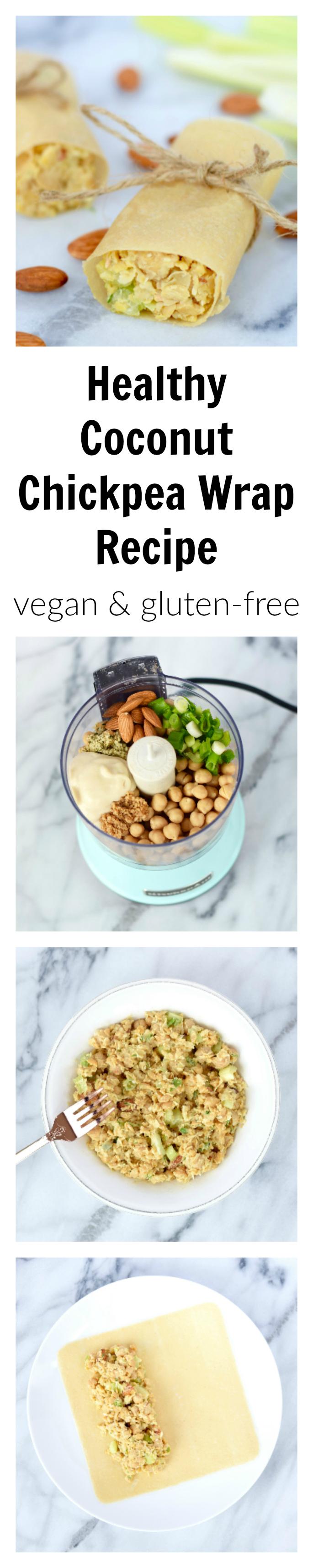 Vegan Gluten-Free Healthy Coconut Chickpea Wraps-2