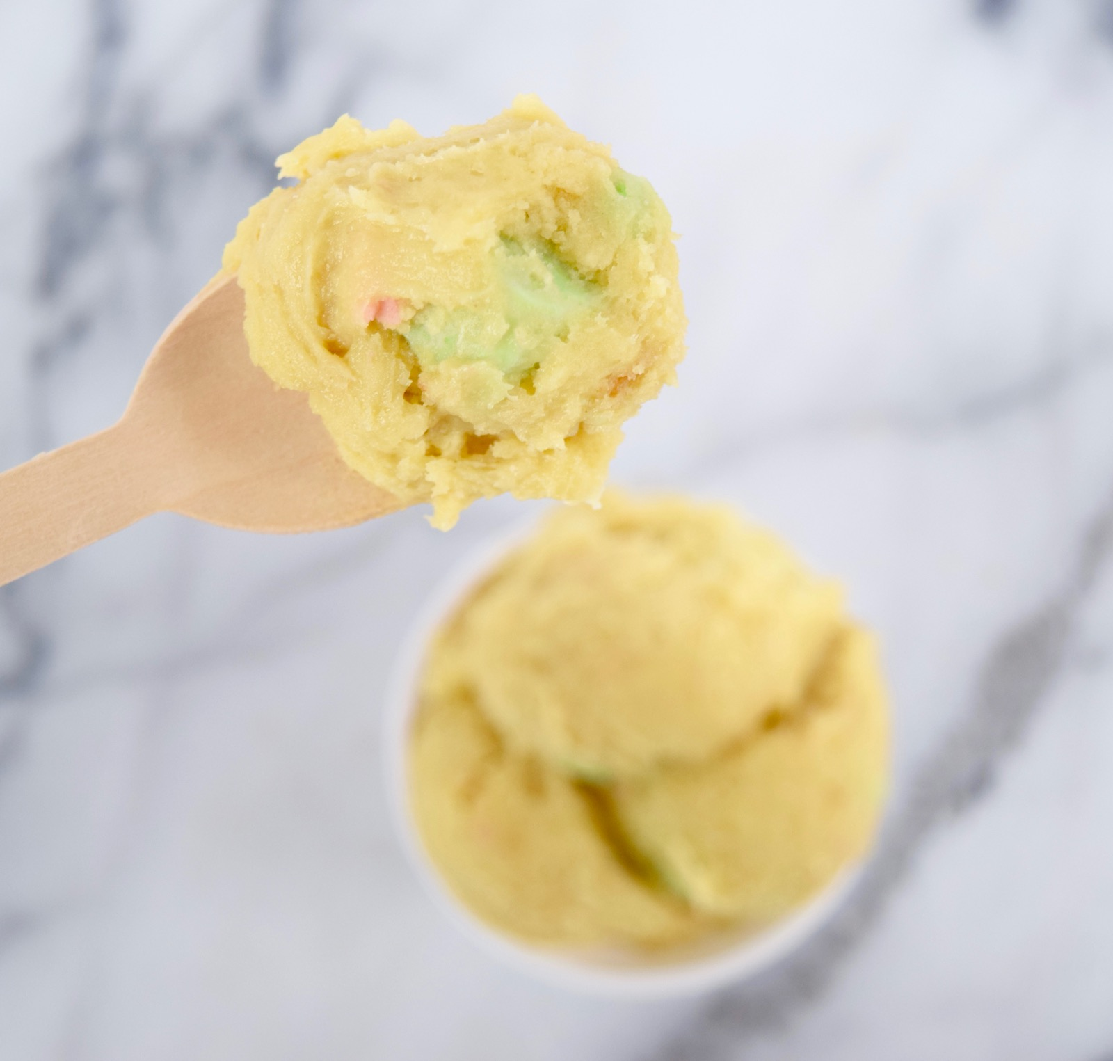 cake batter cookie dough