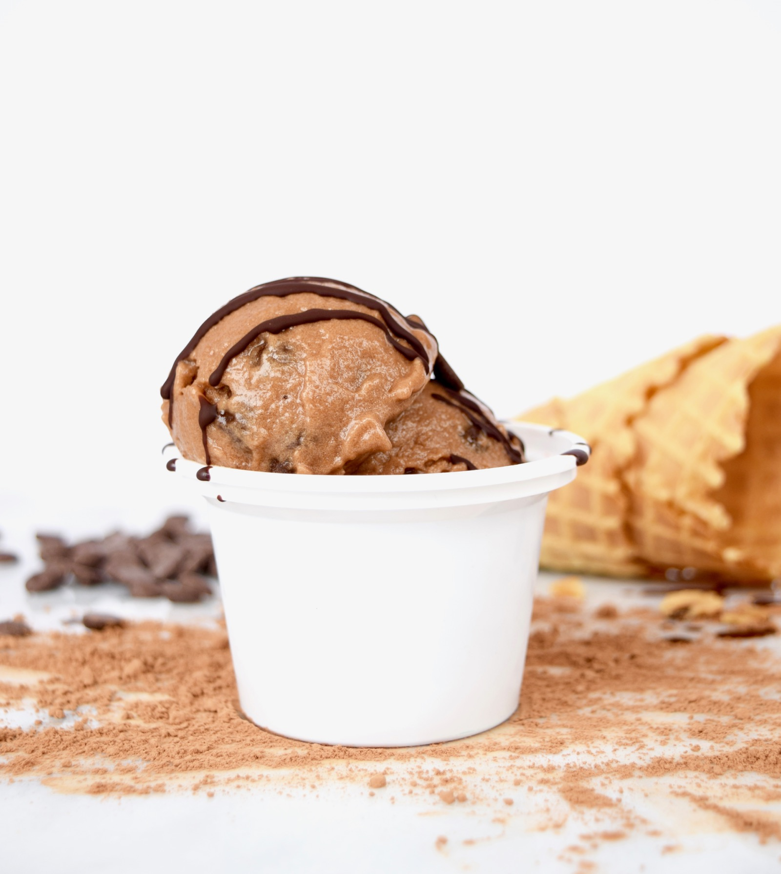 Healthy Chocolate Banana Ice Cream Recipe