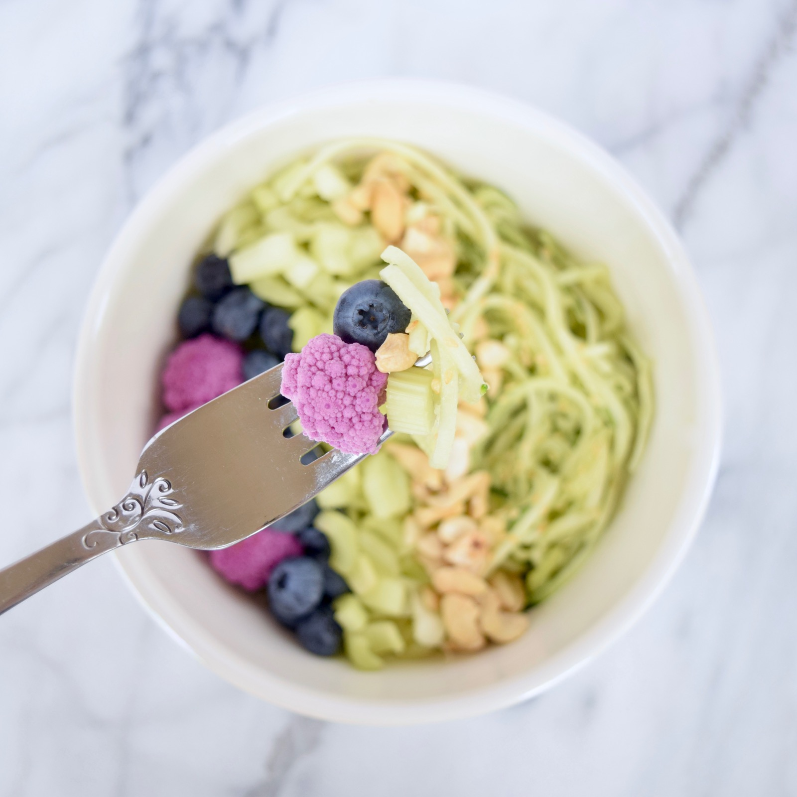 Mermaid Zoodle Bowl