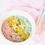 Healthy Unicorn Oatmeal Recipe