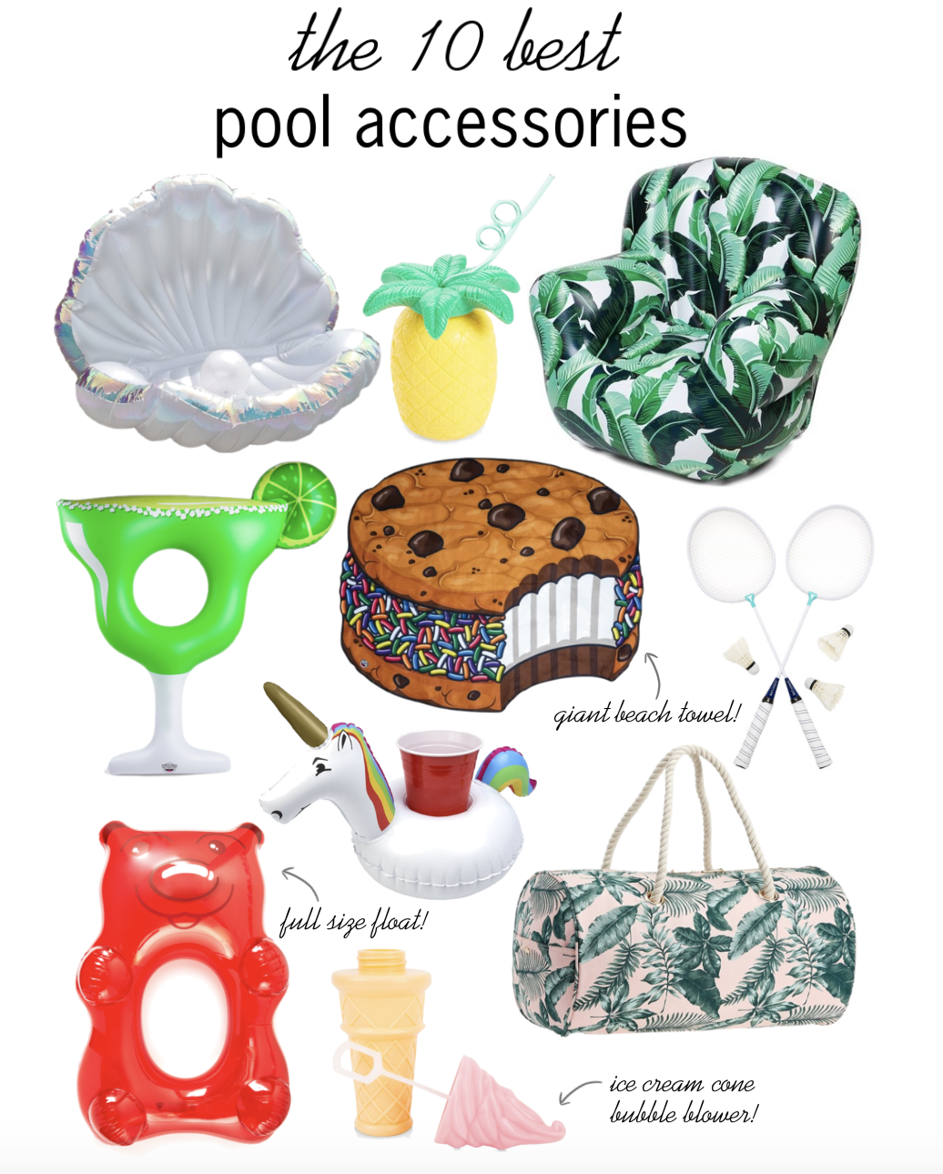the 10 best pool accessories