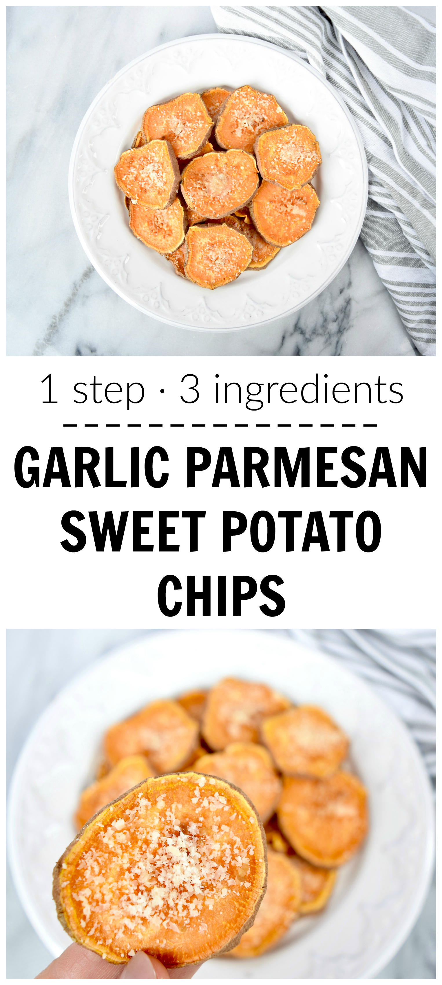 Sweet Potato And Parmesan Chips Recipe — Dishmaps