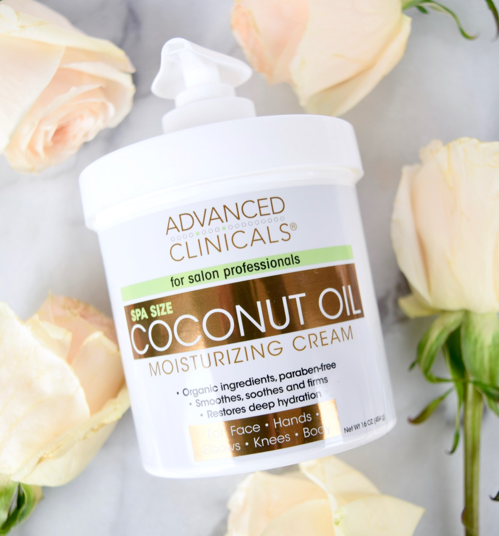 Advanced Clinicals Coconut Body Cream