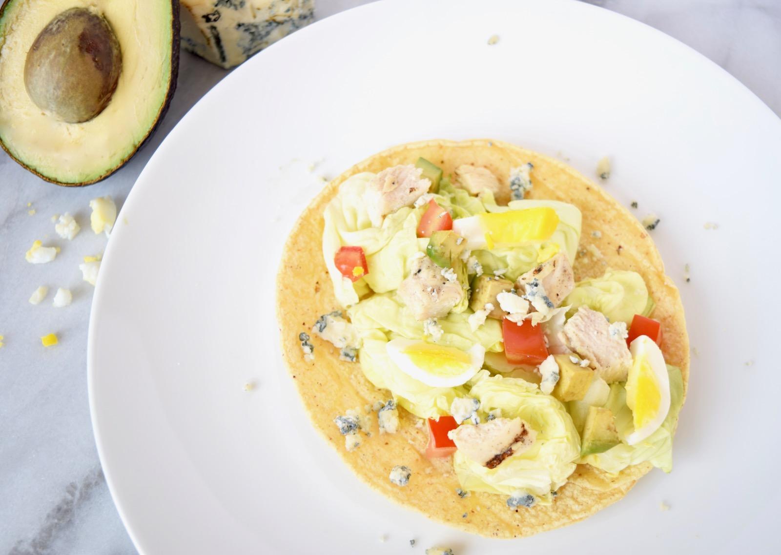 Cobb Salad Taco