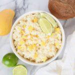 Mango Lime Coconut Rice Recipe