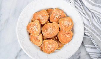 Garlic Parmesan Sweet Potato Chips