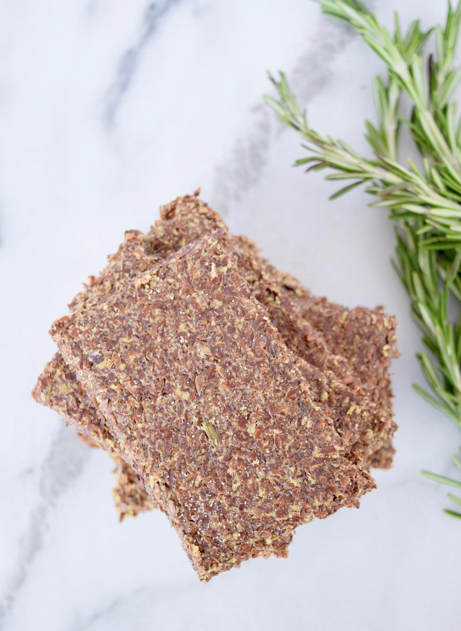 Rosemary Gluten Free Crackers Recipe