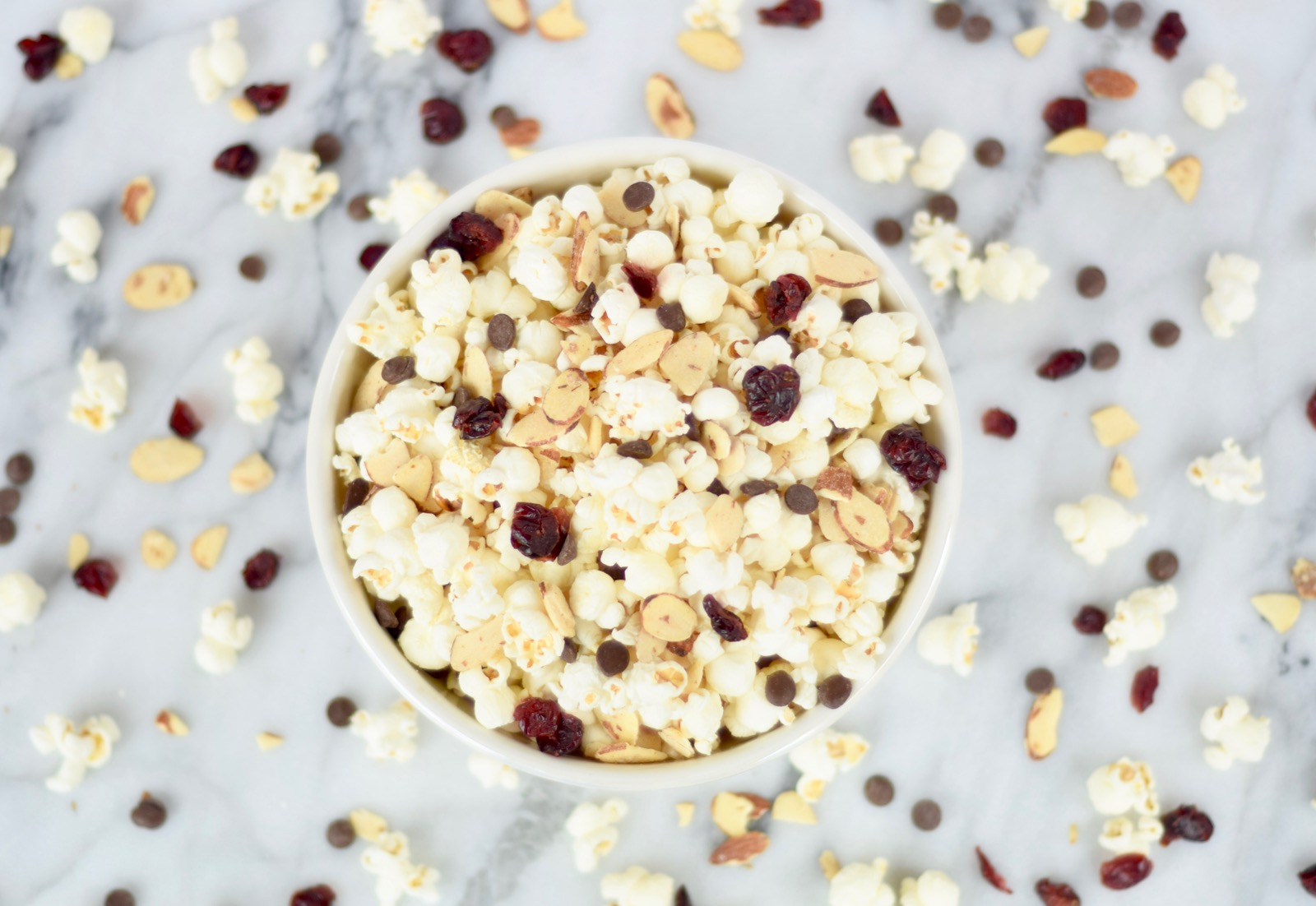 Trail Mix Popcorn Recipe